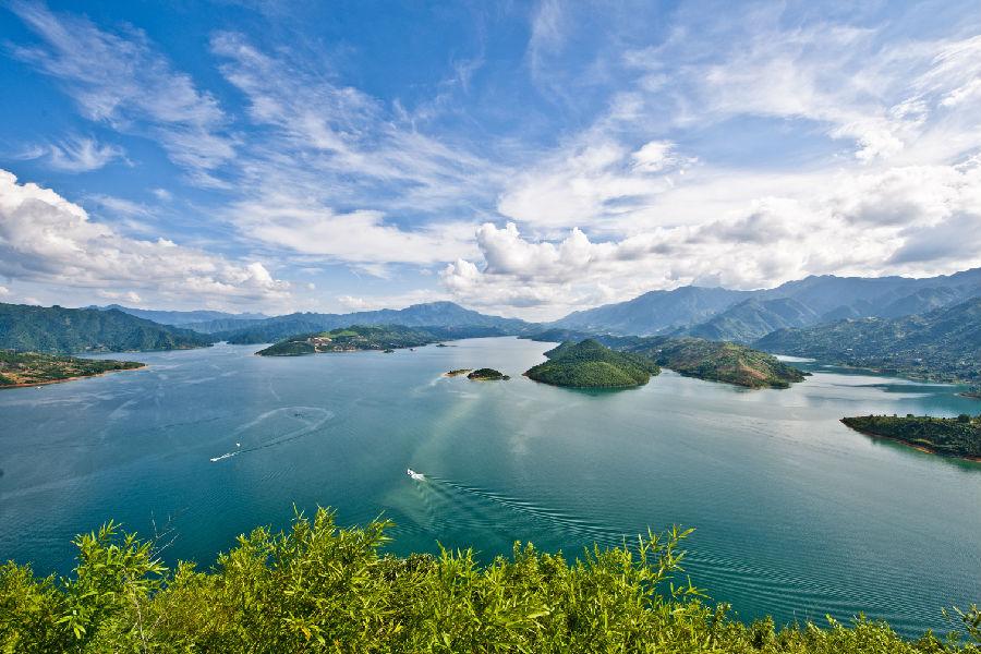 东江湖,小东江,东江大坝,龙景峡谷,兜率岛,东江漂流