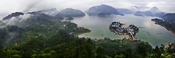 东江湖,黄草镇
