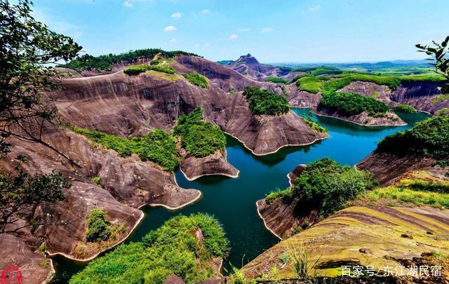 东江湖,高椅岭