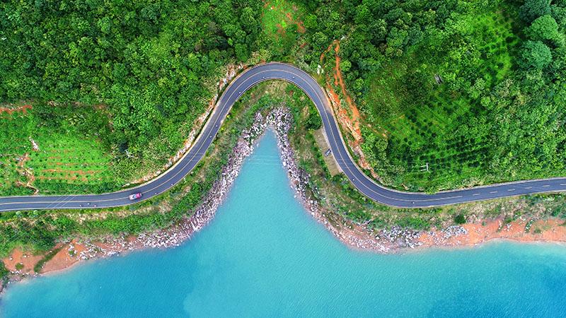 东江湖白廊环湖公路